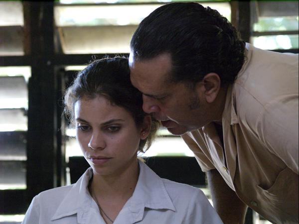 Miriel Cejas y Luis Alberto García